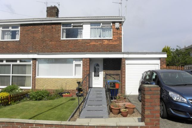 Thumbnail Semi-detached house for sale in Fontburn Road, Seaton Delaval, Whitley Bay