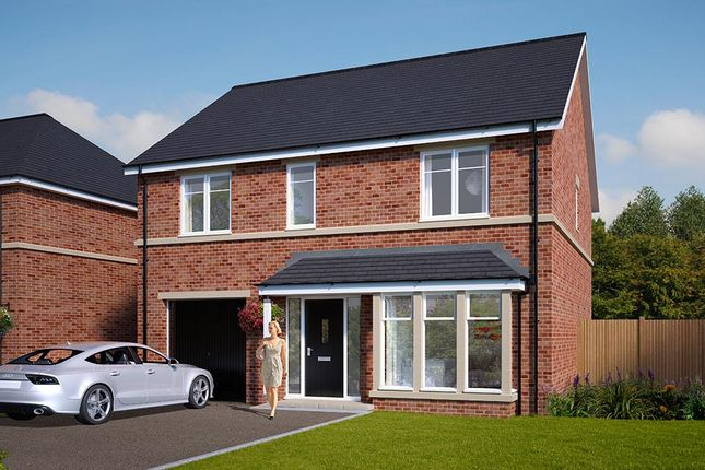 "Thumbnail Detached house for sale in ""The Rosebury"" at Standbridge Lane, Crigglestone, Wakefield"