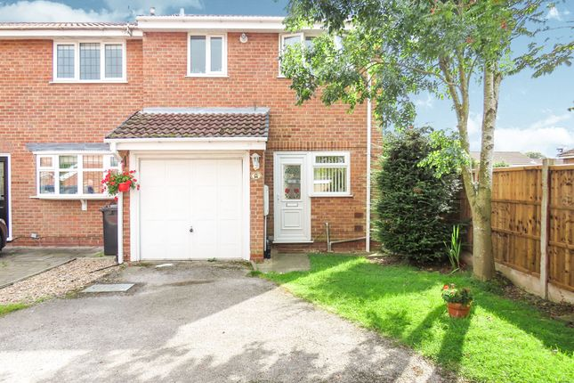 Thumbnail Semi-detached house for sale in Pinecroft Court, Oakwood, Derby