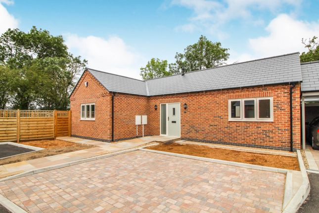 Thumbnail Detached bungalow for sale in Stathern Lane, Harby, Melton Mowbray