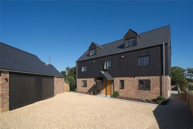 5 bed detached house for sale in Wimborne Road, Tarrant Keyneston, Wimborne, Dorset