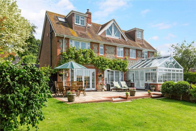 Thumbnail Detached house for sale in The Street, Bury, Pulborough, West Sussex