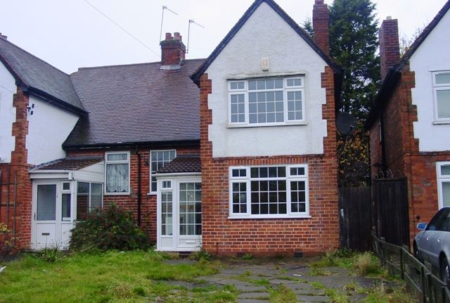 Thumbnail Semi-detached house to rent in Oxhill Road, Handsworth