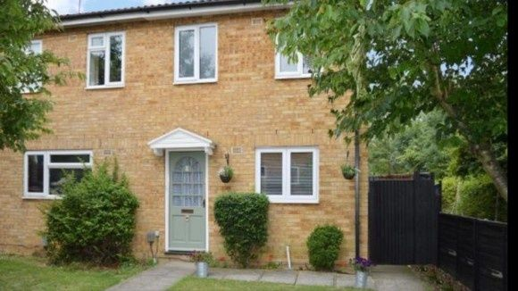 Thumbnail Semi-detached house to rent in Weldon Close, Wigmore, Luton