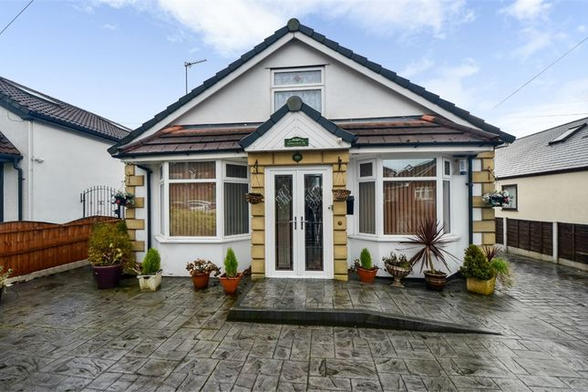 Thumbnail Detached bungalow for sale in Mossway, Middleton, Manchester, Lancashire