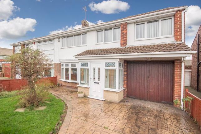 Thumbnail Semi-detached house for sale in Avon Road, Redcar