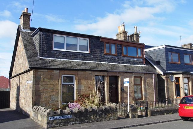 End terrace house to rent in Mungalhead Road, Falkirk