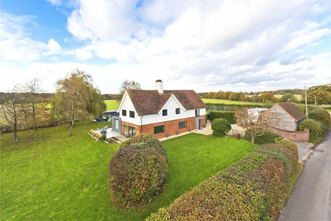 Thumbnail Detached house to rent in Rotherwick, Hook, Hampshire
