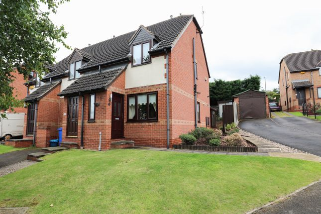 Thumbnail Town house to rent in Badger Place, Woodhouse, Sheffield