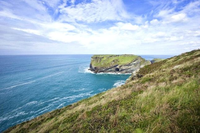 Nearby Coast of Vicarage Hill, Tintagel, Cornwall PL34