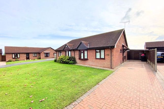 2 bed semi-detached bungalow to rent in Woffindin Close, Great Gonerby, Grantham NG31