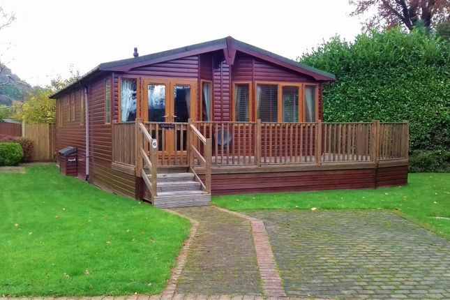 Thumbnail Detached bungalow for sale in Gwydyr View Lodge Park, Gower Road, Trefriw