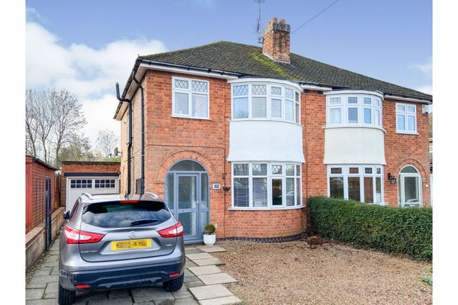 3 bed semi-detached house for sale in Branting Hill, Groby, Leicester LE6