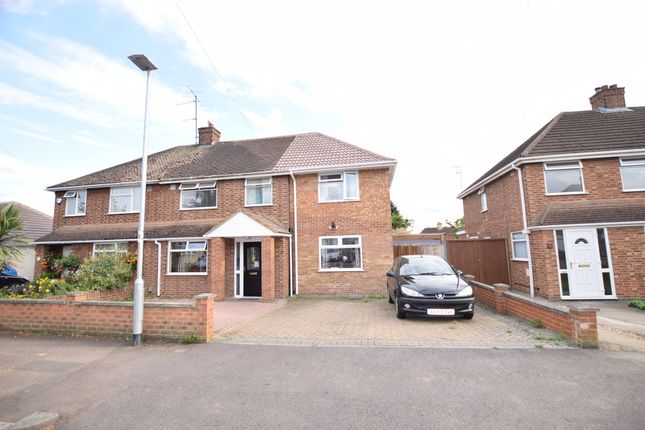 Thumbnail Semi-detached house for sale in Eaton Road, Kempston, Bedford