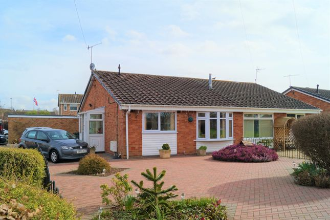 Thumbnail Semi-detached bungalow to rent in Westmount Close, Lower Wick, Worcester