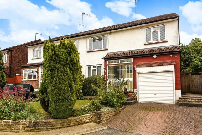 Thumbnail Semi-detached house for sale in Howcroft Crescent, Finchley