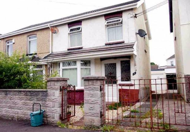 Thumbnail Semi-detached house to rent in St. Pauls Terrace, Garden Village, Swansea