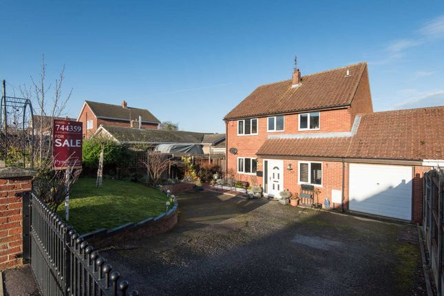 Thumbnail Detached house for sale in Gurney Road, New Costessey, Norwich