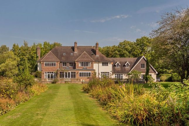 Thumbnail Detached house for sale in Sandpit Hall Road, Chobham, Woking