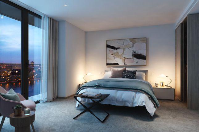 Bedroom of Coda, 198 York Road, London SW11