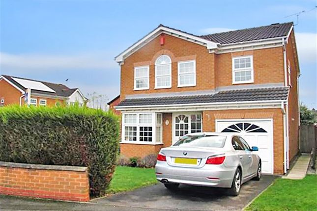 Thumbnail Detached house to rent in Kindlewood Drive, Chilwell, Nottingham
