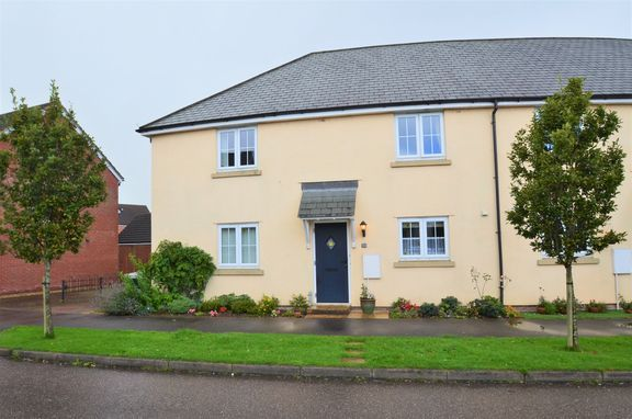 Thumbnail End terrace house for sale in Cannington Road, Witheridge, Tiverton