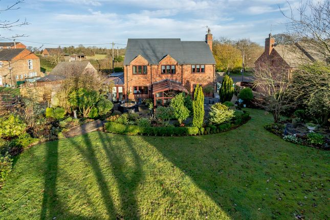Thumbnail Detached house for sale in Welford Road, Thornby, Northampton, Northamptonshire