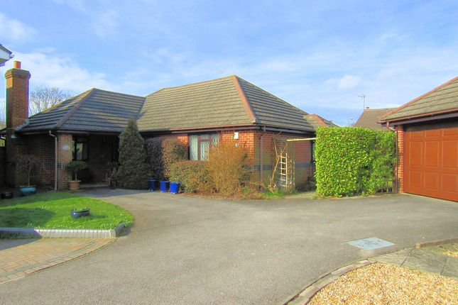 Thumbnail Detached bungalow for sale in Marken Close, Locks Heath, Southampton, Hampshire