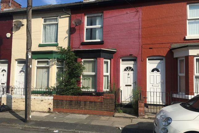 Thumbnail Terraced house to rent in Kilburn Street, Liverpool