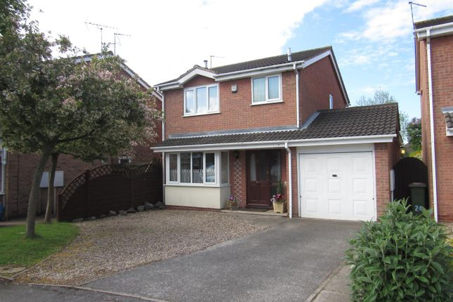 Thumbnail Detached house for sale in Herrick Close, Enderby, Leicester