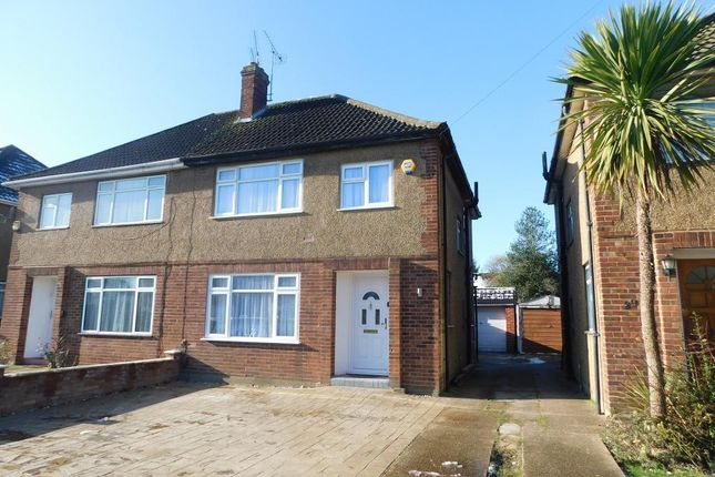 Thumbnail Semi-detached house to rent in Hillary Road, Langley