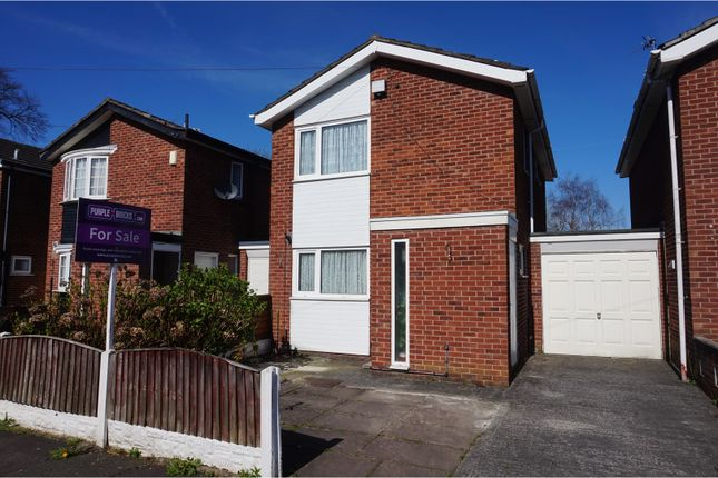 Thumbnail Link-detached house for sale in Oakleigh Avenue, Manchester