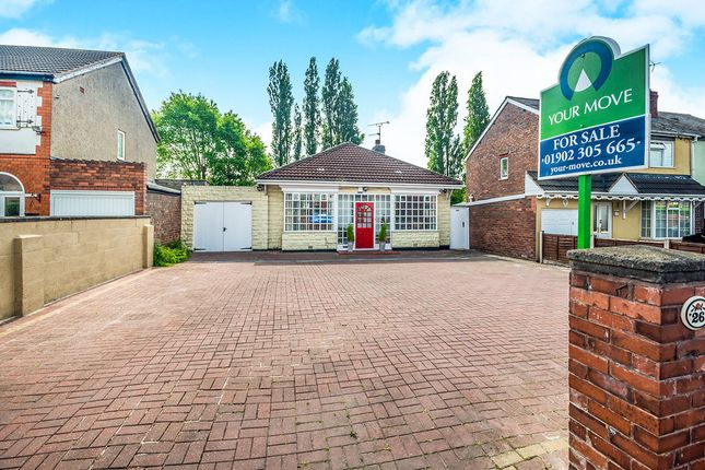 Thumbnail Bungalow for sale in Cannock Road, Wednesfield, Wolverhampton
