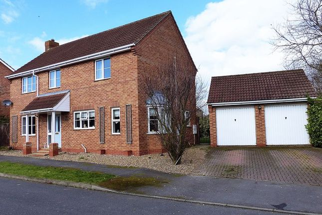 Thumbnail Detached house for sale in Hotchkin Avenue, Saxilby, Lincoln