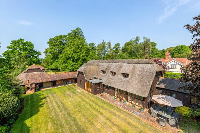 Thumbnail Barn conversion for sale in Pinewoods Road, Longworth, Abingdon