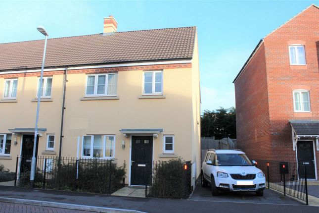 Thumbnail End terrace house to rent in Grove Gate, Staplegrove, Taunton