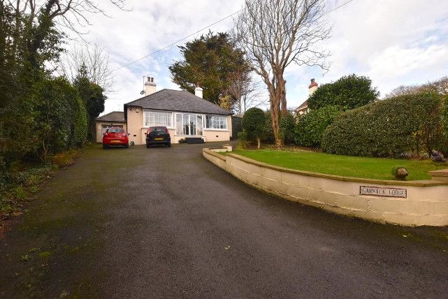 Thumbnail Bungalow for sale in The Crescent, Baldrine