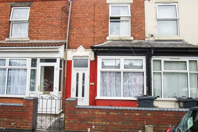 Thumbnail Terraced house for sale in Gilbert Road, Edgbaston, Birmingham