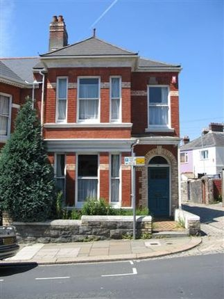 Thumbnail Town house to rent in Beechwood Avenue, Mutley, Plymouth