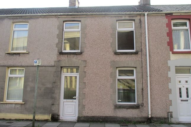 Thumbnail Terraced house to rent in Llewellyn Street, Port Talbot, Neath Port Talbot.