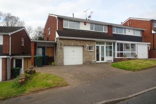 Thumbnail Property to rent in Linden Avenue, Great Barr, Birmingham