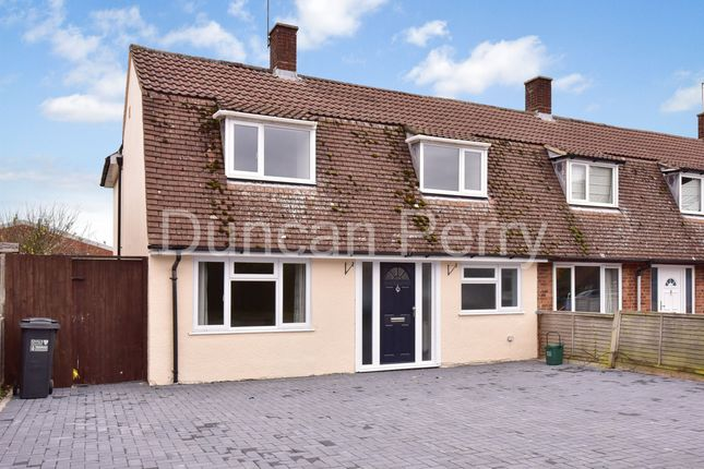 3 bed end terrace house to rent in Puttocks Drive, Welham Green, Herts AL9