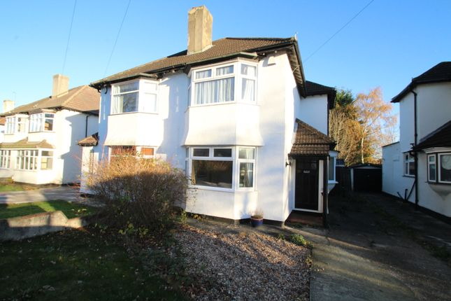 Thumbnail Semi-detached house to rent in Crescent Drive, Petts Wood, Orpington