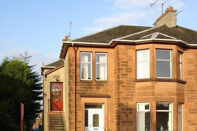 Thumbnail Flat to rent in Underwood Road, Burnside, Glasgow