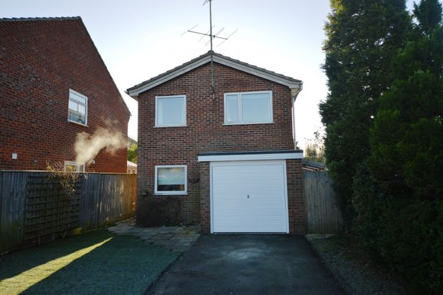 Thumbnail Detached house to rent in Fernlea, Whitehill, Bordon