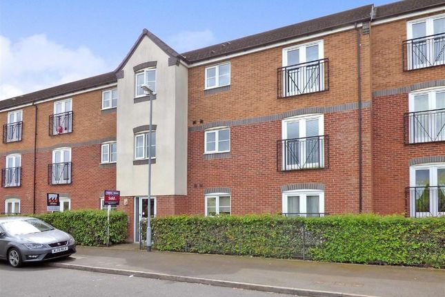 Thumbnail Flat for sale in Hobby Way, Cannock, Staffordshire