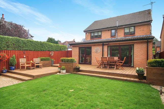 Thumbnail Detached house for sale in Broomieknowe Gardens, Burnside, Glasgow
