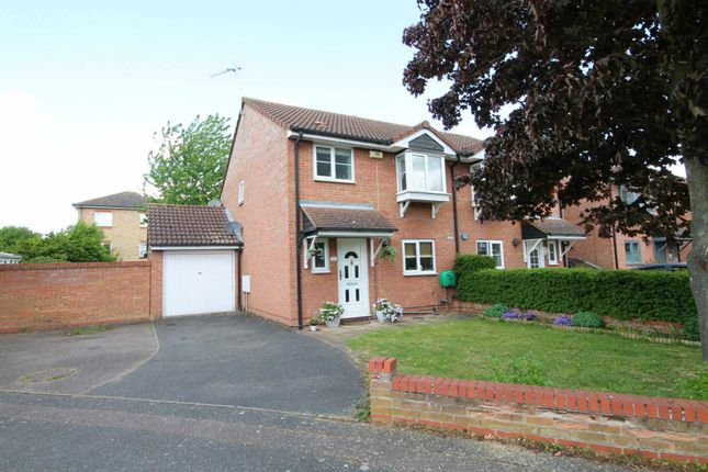 Thumbnail Semi-detached house for sale in Tamarin Gardens, Cherry Hinton, Cambridge