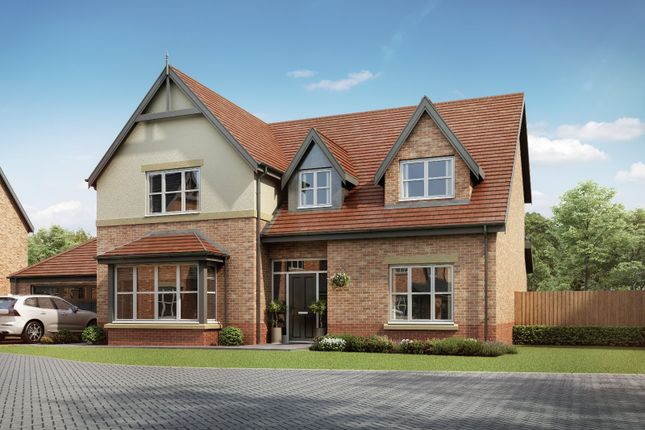 Thumbnail Detached house for sale in Medburn Park, Medburn Village, Newcastle Upon Tyne
