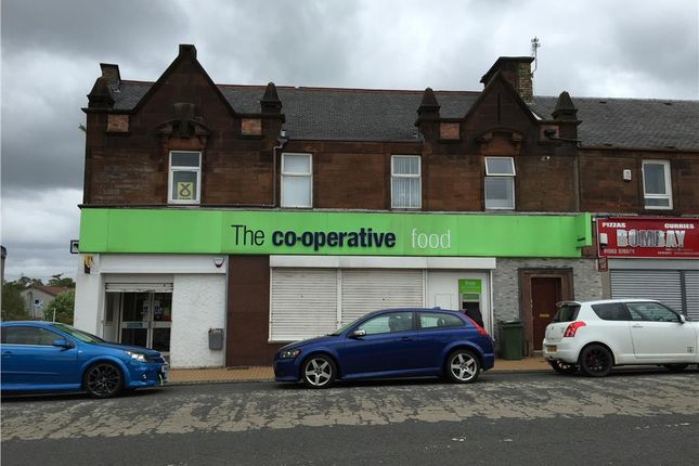 Thumbnail Retail premises for sale in 11 Mauchline Road, Hurlford
